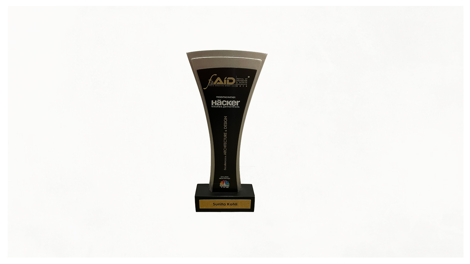 Festival of Architecture and Interior Designing Award 2014