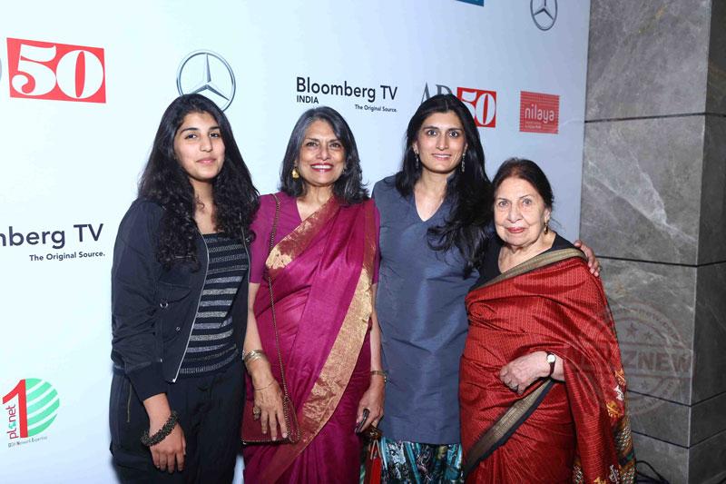 Sunita-Kohli-with-Kohelika-Kohli-and-family-at-AD50-event-at-JW-Marriott-New-Delhi-Aerocity
